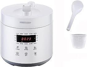 Rijstkoker (2L) Huishoudelijke 1-3 Personen Mini Rijstkoker, Snel Koken, Niet-Stick Inner Pot, Reservering en Warmtebehoud