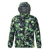 Windbreaker Mens Fashion Bedruckte Windbreaker Jacken Mountaineering Long Sleeve Hooded Waterproof Jacket -