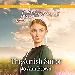 The Amish Suitor audiobook cover art