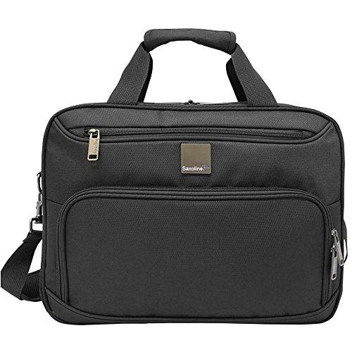 Saxoline Alpine - Bolsa de Transporte para cámaras de Fotos, Color Negro