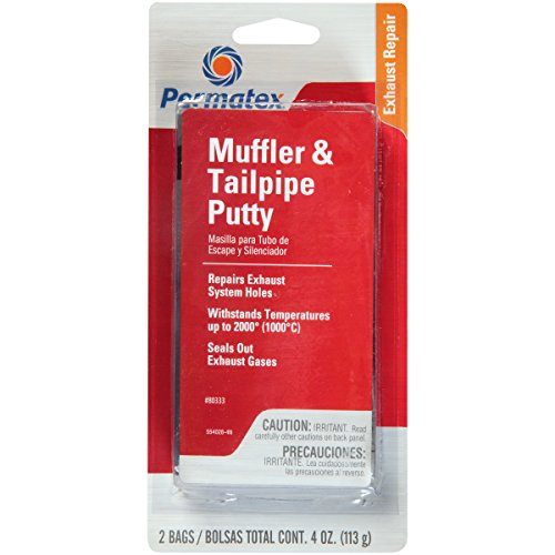 Permatex 80333 Muffler and Tailpipe Putty, 4 oz., 4 Ounce