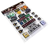 Edge Entertainment- Zombicide BP Plastic Token Pack, Color (EECMZB39)