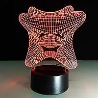 ZUNYI 照明 おしゃれ 金魚3Dクリエイティブ小さなテーブルランプLEDテーブルランプベッドサイドランプアクリル照明ステレオナイトライト5色とりどりのBluetoothスピーカー 照明 かわいい
