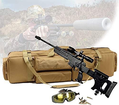 WSZYBAY Cajas De Rifle Suave, Caja Táctica De Doble Rifle, con Capacidad De Dos Rifle, Bolso De Almacenamiento De Rifle De Cojín De Pedestal para Escalar, Pescar, Acampar, Caza