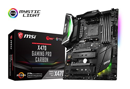 MSI X470 GAMING PRO CARBON ATX gaming moederbord [AMD X470 chipset] MB4387