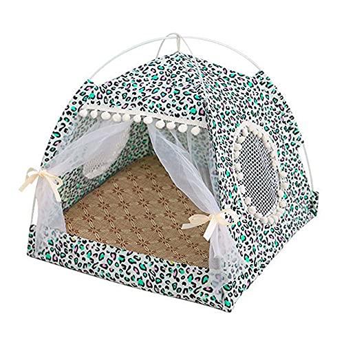 Tienda de campaña para perros, cama de casa de gato, portátil, plegable, impermeable, para exteriores, refugio, cueva, nido, cama para dormir, viaje, camping, tienda de campaña