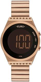 Relógio Euro Feminino Fashion Fit Rosé EUBJT016AB/4J