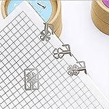 5 Cajas Mini Dibujos Animados Metal Bookmark Art Bookmark Small Reg Gift Set Random Distribution Set, Bookmark