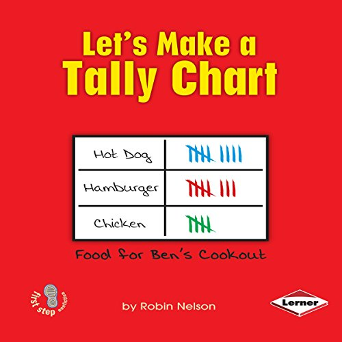 Let's Make a Tally Chart audiobook cover art