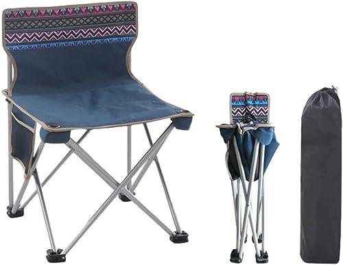 Qiuoorsqurp Bequem und Leichter, Skizzenstuhl tragbarer Camping-Strand-Angelstuhl, Anti-Kollisions-Design, bessere pÃlege für Sie, verschlei ster und schmutziger Outdoor-Klappstuhl, Skizzenmalstuhl
