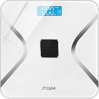 Báscula de grasa corporal recargable inteligente, báscula electrónica de cuerpo precisa y báscula de peso, monitor de grasa saludable, ligera y energética, báscula de grasa corporal