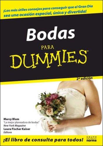 Bodas Para Dummies/ Weddings for Dummies