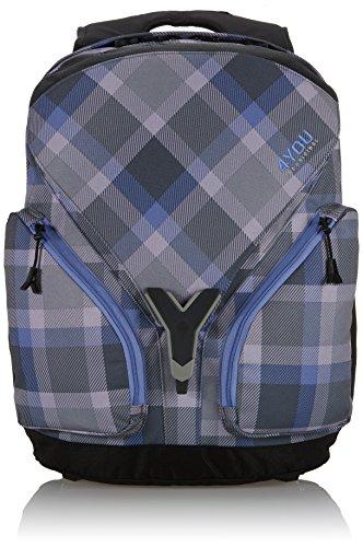 4You Kinder-Rucksack Igrec Rucksack Mehrfarbig (Checker Grey Violet) 11440064900
