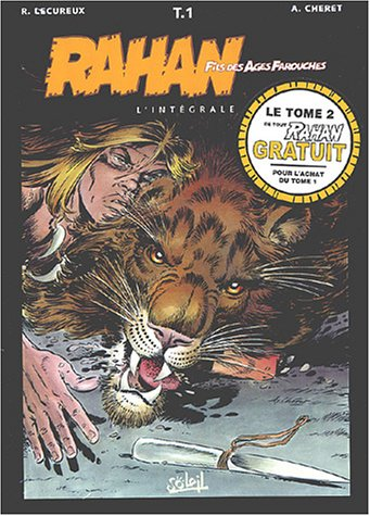 Pack : Rahan, Tome 1 + gratuit tome 2