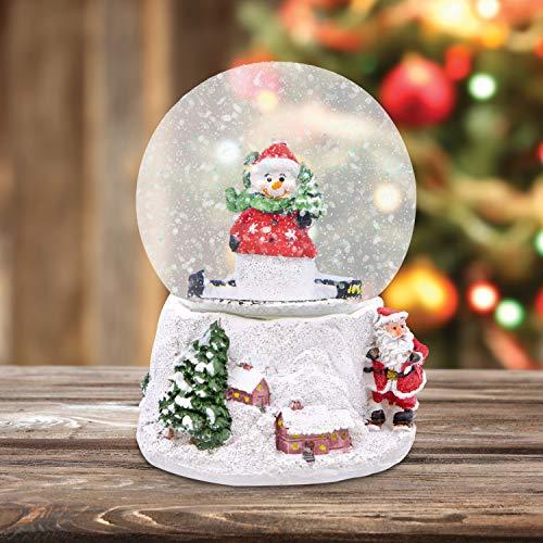 The Christmas Workshop 84410 Musical Snow Globe/Snowman...