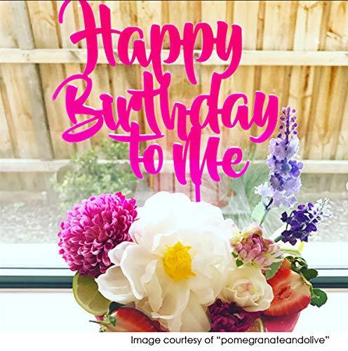 Beste verjaardagstaarttoppers - Gelukkige Verjaardag voor mij Verjaardagstaartdecoratie - Gemaakt om te bestellen - Cake Topper Supplies Maker Australia