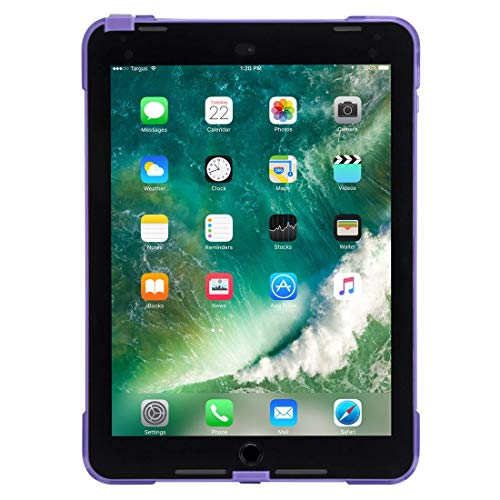 Targus SafePort 24.6 cm (9.7 Inches) Purple Case for Tablet (Foam, Apple, iPad (6th Gen.), iPad (5th gen.), iPad Pro, iPad Air 2, 24.6 cm (9.7 inches), 308.4 g, Purple)
