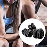 AITOCO 2 Pack Water Bottle Dumbbells,Fitness Dumbbells,Water Filled Dumbbells, Portable Travel Dumbbells for Free weights Set for Muscle Toning, Strength Building, Weight Loss
