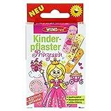 Princesas de Wundmed tiritas Calidad testado dermatológicamente impermeable para Kids–Pack de 10