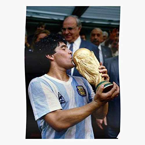 Argentina Maradona Goat Hand Mexico Diego God 86 El Of Home Decor Wall Art Print Poster !