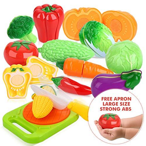 Peradix Corte de Frutas y Alimentos Falsos,...