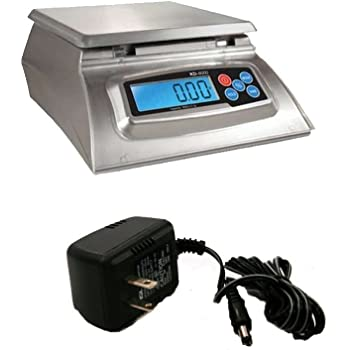 My Weigh KD-8000 Kitchen And Craft Digital Scale & AC Adapter