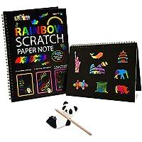 Fricon Create Rainbow Scratch Art