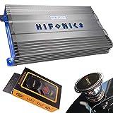 Hifonics BG-2500.1D 2500 Watts Brutus Gamma Mono Subwoofer Car Audio Amplifier with Gravity Magnet Phone Holder Bundle