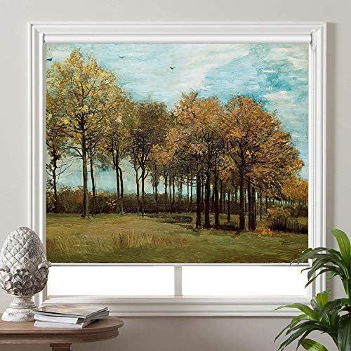 PASSENGER PIGEON Blackout Window Shades, Autumn Landscape, by Vi