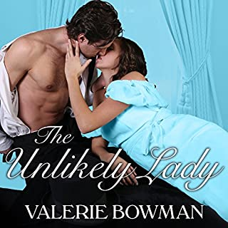 The Unlikely Lady audiobook cover art