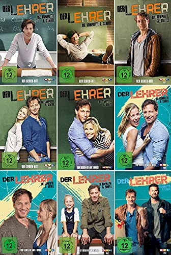 Der Lehrer - Die komplette Staffel 1-9 im Set- Deutsche Originalware [25 DVDs]
