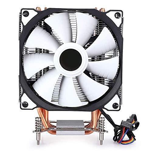 Hyuduo1 Enfriador de CPU, disipador de Calor del Enfriador de Aire de CPU con Ventilador Dual de 90 mm, Ventiladores silenciosos de...
