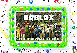 Roblox Cake Topper Edible Image Personalized Cupcakes Frosting Sugar Sheet (8