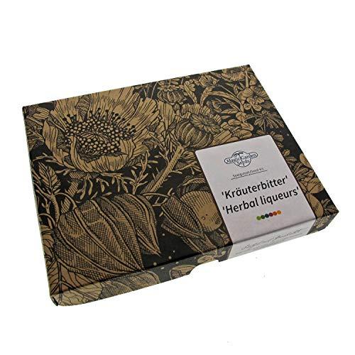 Digestivos amargos - kit regalo de semillas con 6 hierbas tónicas para la preparación de licores finos