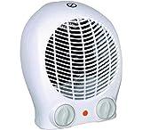 Chauffage d' Appoint Radiateur Électrique Soufflant - puissant et confortable, Chauffage miniTurbo performant et compact - 3 Positions - Ventilation /1000W / 2000W - Thermostat réglable.