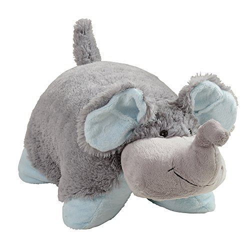 Pillow Pets Originals, Nutty Elephant, 18' Stuffed Animal Plush Toy