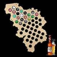 Veuillez choisir une couleur du bois dans le message au vendeur. Cadeau ultime pour tout buveur de bière artisanale, ce collecteur de capsules de bière Rectangle est exactement ce dont vous avez besoin pour garder une trace de vos aventures brassicol...