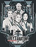 Grey's Anatomy Coloring Book: Grey's Anatomy Excellent Coloring Book With Amazing Grey's Anatomy CHARACTERS Unofficial Images