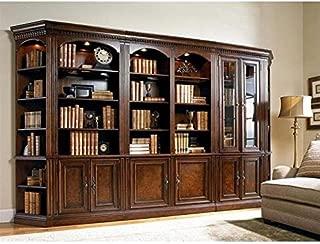 Hooker Furniture European Renaissance II Bookcase Wall Unit in Cherry