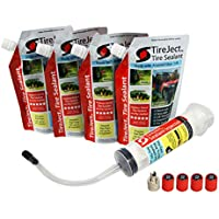 TireJect Off-Road Flat Tire Protection Kit With Sealant Injector