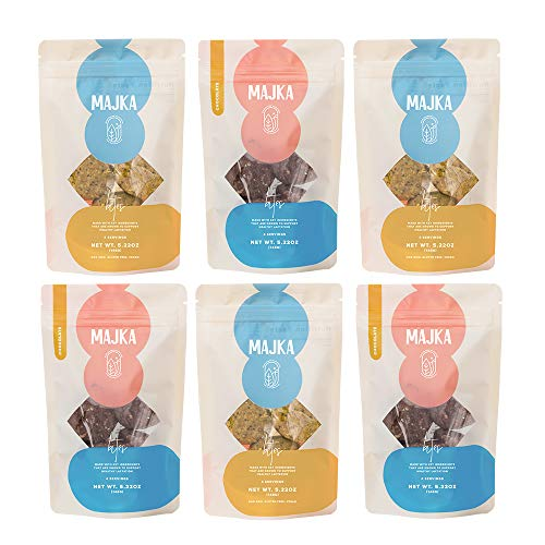 Majka   Lactation Cookie Bites   Breastfeeding Cookie To Nourish and Promote Healthy Breast Milk Supply   Gluten Free and Vegan… (Variety 6 Pack)