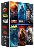 Coffret 5 films : godzilla 1 et 2 ; kong ; rampage ; en eaux troubles/the meg ; pacific rim