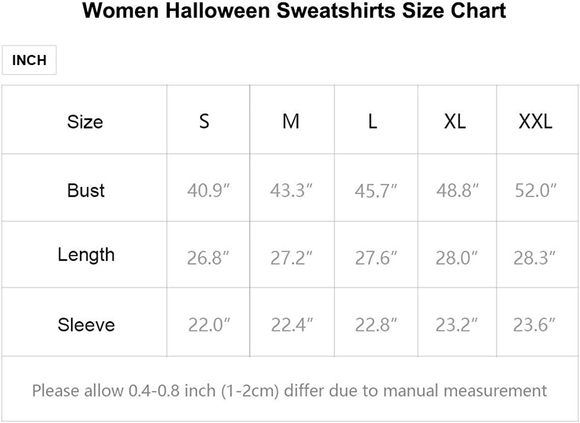 IHOT Women's Halloween Hoodies Long Sleeve Funny Pumpkin Slouchy Sweatshirts Pullover