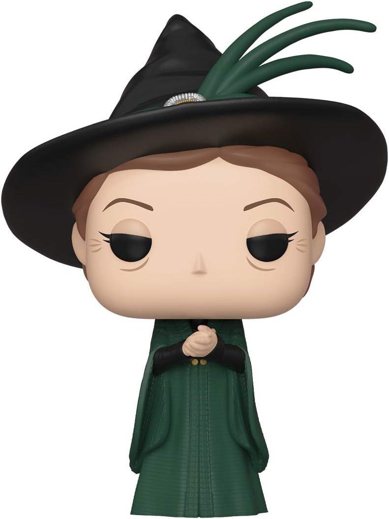 Funko - Pop! Harry Potter: Minerva McGonagall (Yule) Figura De Vinil , Multicolor (42830)