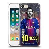 Head Case Designs Oficial FC Barcelona Lionel Messi 2017/18 First Team Group 1 Carcasa de Gel de Silicona Compatible con Apple iPhone 7 / iPhone 8 / iPhone SE 2020