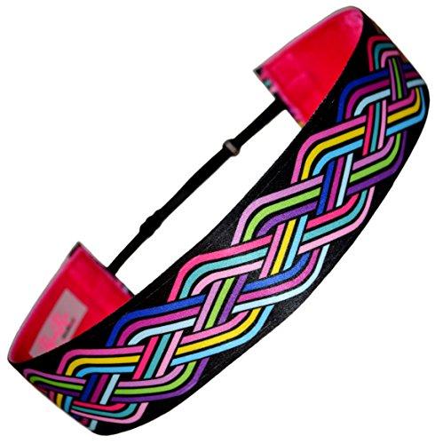 RazzyRoo Headbands 'Celtic Knots Adjustable Non Slip Headband - 1.5' Wide