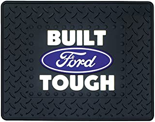 Plasticolor Built Ford Tough with Ford Oval Utility Mat- 14