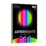 "Astrobrights Color Paper, 8.5"" x 11"", 24 lb/89 gsm,'Spectrum' 25-Color Assortment, 150 Sheets (80933-01)"