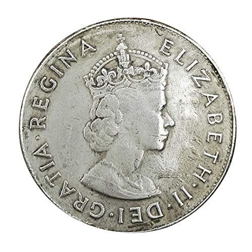 Xinmeitezhubao Vintage-Silbermünze Sammlung, British Elizabeth II 1959, alte weiße Kupfer-Silber-Dollar