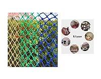 安全ネット保護ネット 多目的な用途のネット 幼稚園の子供たちのアンチドロップネットワークのセーフティネットの階段フェンス猫ネットワークバルコニーセーフティネットネット装飾的な遊び場多目的スタジアム 怪我防止 危険防止 簡単設置 防獣ネット 動物ガードネット アニマルネット (Color : Mesh 12cm, Size : 1x3m)